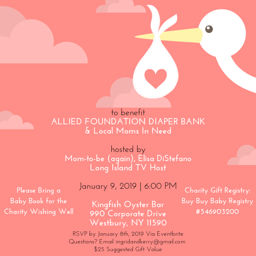 Charity Baby Shower- Hosted by Elisa DiStefano- Long Island TV Host